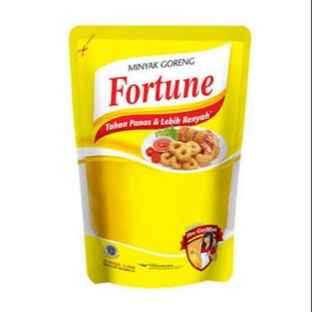 Contains Omega 6 And 9 Which Are Good For Brain & Body Health, Vitamin E And Vitamin A Which Act As Antioxidants. Fortune Cooking Oil Is Formulated Trans Fat Free So It Is Good For You Who Suffer From Cholesterol.  Fortune Cooking Oil Pouch [2000 Ml] Is A