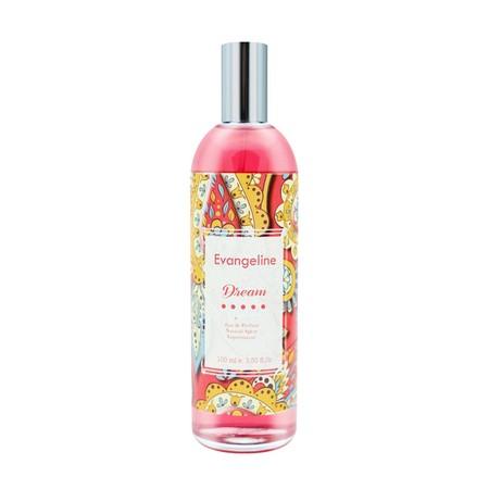 Parfum Evangeline - Eau de Parfum 100ml 100% ORIGINAL PRODUCT dengan aroma yang nyaman dan memikat hingga cocok untuk segala acara dan kebutuhan harian anda, desain botol bermotif batik yang indah membuat parfum ini terlihat autentik dan elegan.