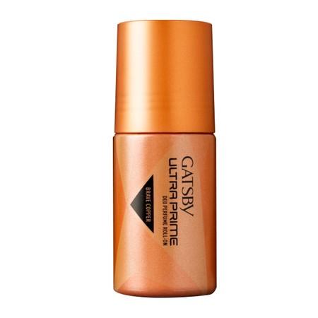 Gatsby Brave Copper Ultra Prime Deo Perfume Roll On Deodorant [40 Ml], Deodorant Yang Memberikan Kesan Laki-Laki Muda Yang Exclusive Namun Tetap Modern.