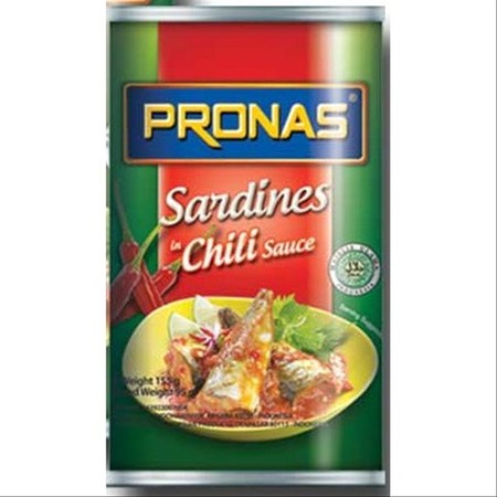 Product Sardines With Chili Sauce Giving The Sensation Of Delicious Eating Fish.
