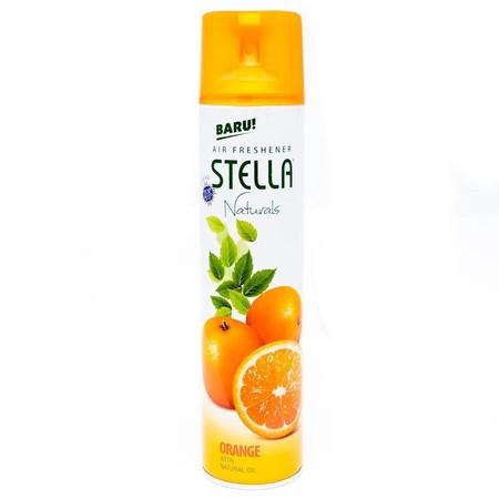 Stella Air Freshener Dengan Wangi Buah Jeruk Yang Selalu Jadi Favorit Keluarga Untuk Mengharumkan Ruangan Di Rumah. Semprotkan Agar Anggota Keluarga Selalu Betah Berkumpul Di Rumah.