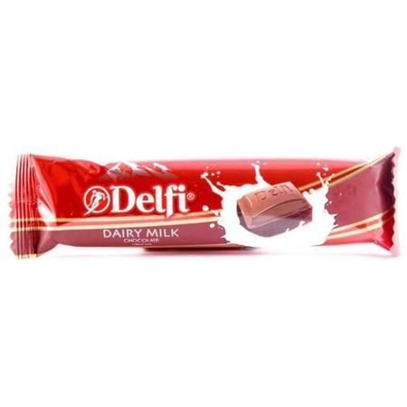 Delfi Almond 27 gr merupakan produk cokelat Delfi Indonesia yang dipersembahkan untuk menemani kamu yang senang menikmati cokelat di sela waktu bekerja atau waktu luang Cokelat Delfi ini telah dicampur dengan susu dan kacang almond yang bersatu untuk menc