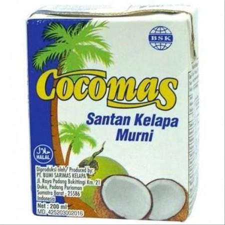 Coconut Cream Lemak Nabati +- 24%. Halal. Cocok untuk membuat Nasi Lemak, Kari, Kemanisan ala Asia, Kue-kue , Minuman, Koktel, Es krim, Jem, Puding, dan banyak lagi.