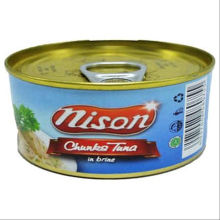 Tuna Nison Chunk Air Garam 90gr. Tuna suwir dengan tambahan air garam. Rasanya yang enak dan juga mengandung sumber asam omega-3.