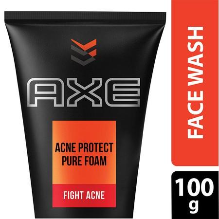 Axe Acne Protect Foam Dengan Tea Tree Dan Salicylic Acid Merupakan Facial Foam Persembahan Axe Yang Khusus Dibuat Untuk Wajah Berjerawat. Cocok Untuk Melawan Jerawat Dan Mengankat Kotoran Serta Debu Pada Wajahmu. Formulasinya Membuat Kulit Lebih Halus Mer