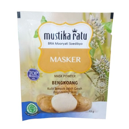 Mustika Ratu Masker merupakan masker wajah yang dapat membantu wajah agar tampak lebih cerah dan menjaga kelembapan wajah.