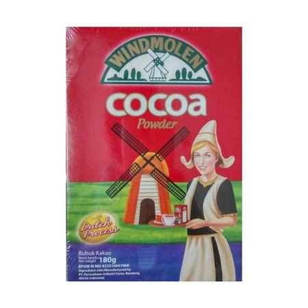 WINDMOLEN COCOA POWDER terbuat dari biji kakao berkualitas tinggi, diolah dengan teknologi tinggi dan standar pengawasan mutu yang ketat, menghasilkan bubuk kakao murni dengan cita rasa dan kualitas yang terjamin dan dipercaya secara turun temurun cocok d