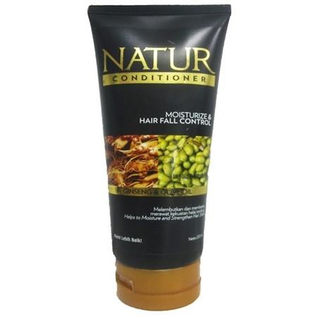 Natur Ginseng Conditioner merupakan conditioner yang terbuat dari ekstrak ginseng & olive oil yang berfungsi melembutkan & membantu merawat kekuatan helai rambut dan menjadikan rambut tetap halus, lembut, lembab & mudah diatur.