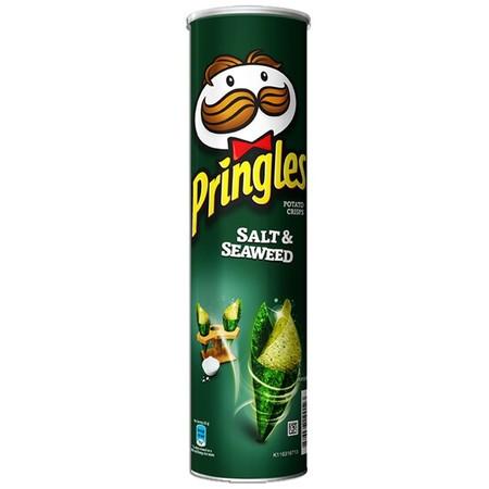 Pringles merupakan salah satu produk makanan ringan yang memiliki beragam rasa yang nikmat dan lezat. Pringles terbuat dari kentang pilihan yang dipotong pipih dan diolah secara higienis dan pastinya aman untuk dikonsumsi. Terbungkus didalam sebuah tabung