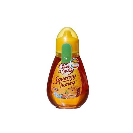 Lune De Miel Squeezy Honey 250 G Merupakan Madu Dari Lebah Berkualitas. Tanpa Proses Filterisasi, Pemasakan Maupun Penambahan Bahan-Bahan Lainnya. 100% Madu Murni Mentah. Sangat Bagus Untuk Kesehatan, Kecantikan Serta Meningkatkan Imunitas Dan Menjaga Kes