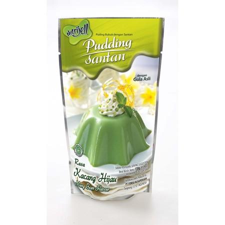Pudding adalah puding instan yang dikemas dalam bentuk bubuk. Mudah dimasak, dengan mendidih 500 ml air dan puding siap untuk dicetak dan didinginkan. Puding bisa diolah menjadi berbagai macam unik, gurih dan lezat. Varian : Kacang Hijau