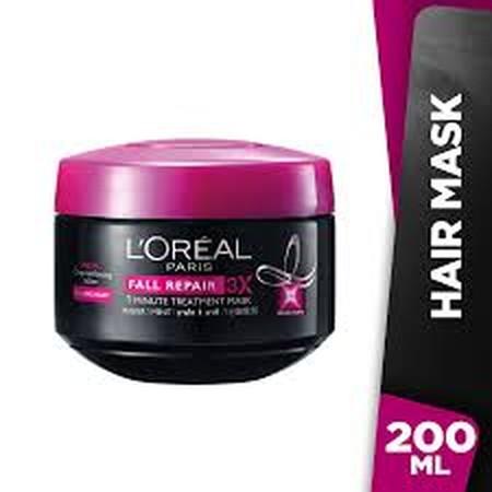 Diformulasikan khusus untuk rambut rontok  Menutrisi kulit kepala  Menutrisi akar rambut  Rambut tetap kuat Fall Resist 3X Masker 1 Menit membantu mengurangi rambut yang rontok karena patah hingga 97%**. Rambut yang mudah rontok* disebabkan oleh kurang