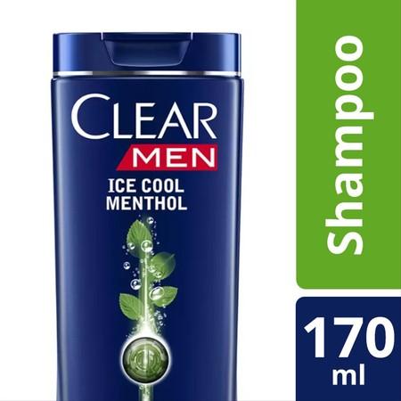 CLEAR Shampoo Ice Cool Menthol 340Ml merupakan sampo yang diformulasi khusus untuk membersihkan kulit kepala dan rambut secara menyeluruh serta menghilangkan ketombe.