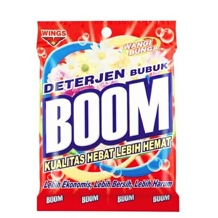 Boom Powder Detergent, The Most Powerful And Economically Priced Las Formula Detergent.