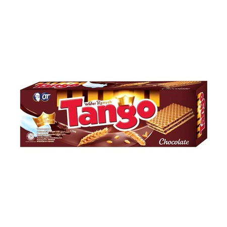 Tango Wafer Semarakkan Tiap Momen Dengan Enaknya Berbagai Pilihan Rasa Wafer Tango. Wafer Renyah Yang Tercipta Dari Resep Asli Dan Bahan Pilihan Berkualitas Untuk Hadirkan Kelembutan Dan Kesempurnaan Rasa.
