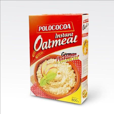 Polococoa Instant Oatmeal 800 Gr. Sarapan Yang Berkualitas Untuk Siap Menjalani Hari Anda. Sarapan Merupakan Hal Yang Penting Sebelum Kita Mulai Beraktifitas. Untuk Kuat Menjalani Aktifitas, Anda Harus Sarapan Dengan Makanan Yang Sehat Dan Berkualitas. Sa