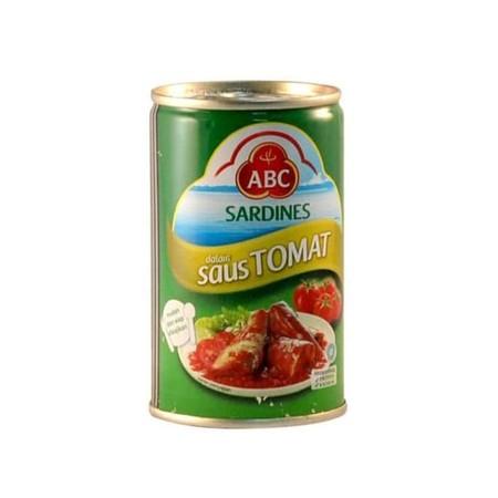 Sarden Tomat 155 Gr Adalah Makanan Siap Saji Yang Di Buat Dari Perpaduan Ikan Terbaik Dengan Saus Berkualitas Yang Sesuai Dengan Cita Rasa Masyarakat Indonesia.  Sarden Abc Juga Di Perkaya Dengan Nutrisi Omega 3 & Omega 6 Yang Baik Untuk Bantu Meningkatka