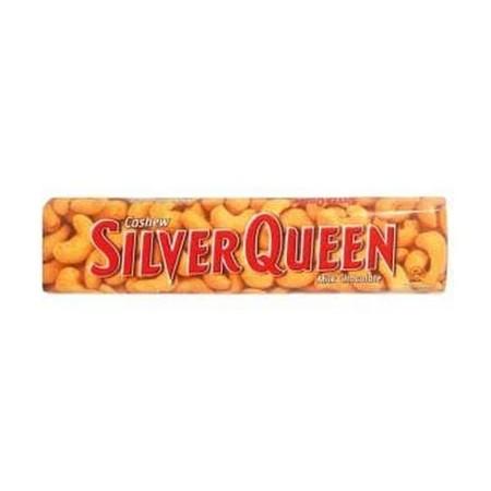 Silver Queen Milk Nut 68Gr Silver Queen Milk Nut 68GrAdalah Cokelat Dengan Perpaduan Pas Antara Coklat, Susu, Dan Kacang Mete Di Dalamnya Yang Menghasilkan Pengalaman Makan Cokelat Yang Akan Membuat Ketagihan. Nikmati Manisnya Cokelat Dan Gurihnya Kaca