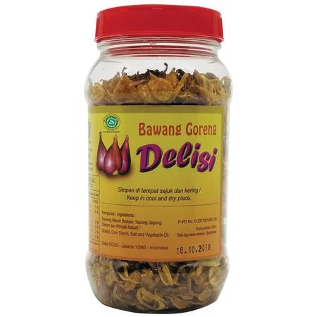 Merupakan bawang merah goreng yang dibuat dengan menggunakan bawang merah asli Brebes. Diolah dengan tambahan rempah dan tepung jagung sehingga menghasilkan rasa dan aroma bawang goreng yang berbeda. Terasa renyah teksturnya, cocok untuk taburan pada nasi