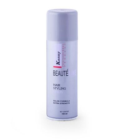 Kenny Beauteline Hair Styling Spray merupakan produk spray untuk menata rambut denga extra strengthen