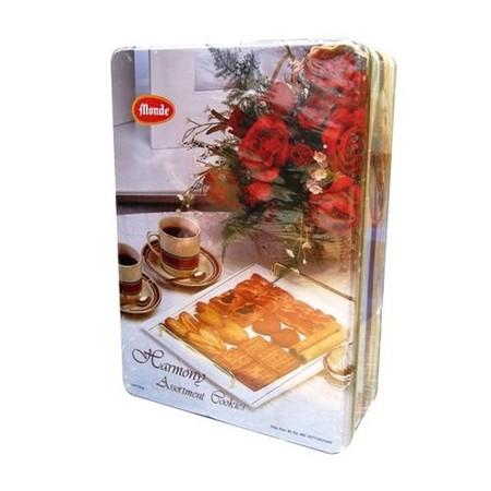 Monde Harmony Assortmentmerupakan biskuit dengan kombinasi berbagai rasa yang dikemas praktis. Terbuat dari bahan berkualitas, ideal menemani saat santai Anda bersama teman maupun keluarga. Rasanya renyah dan sangat digemari oleh semua usia.