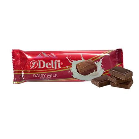 Delfi Milk 65Gr Delfi Dairy Milk 65G Merupakan Produk Cokelat Delfi Indonesia Yang Dipersembahkan Untuk Menemani Kamu Yang Senang Menikmati Cokelat Di Sela Waktu Bekerja Atau Waktu Luang. Cokelat Delfi Ini Telah Dicampur Dengan Susu Yang Bersatu Untuk M
