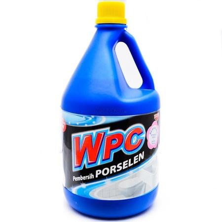 Wpc Biru Pembersih Porselen Botol 2000 Ml, Adalah Cairan Aktif Pembersih Yang Secara Efektif Dapat Membersihkan Noda Pada Kloset, Membasmi Kuman & Bau Pada Toilet, Menjaga Warna Asli Porselen Karena Mengandung Bahan Bermutu Tinggi, Serta Membersihkan Kera