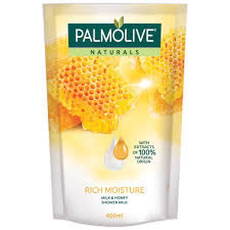 Shower Milk premium yang membuat kulit lebih lembut dan lebih halus.  100% soap free, menggunakan bahan-bahan terbaik dan alami.  PH balance yang sesuai untuk kulit. Dermatologically tested. Palmolive Naturals menggunakan bahan-bahan terbaik dan alami unt