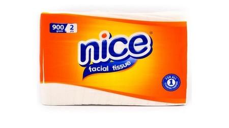 Nice Tissue Facial 900 Gr Merupakan Tisu Berbahan 100% Serat Alami Yang Higienis, Lembut, Dan Alami. Tisu Ini Memiliki Kekuatan, Daya Serap, Dan Sentuhan Kelembutan Untuk Anda Serta Didesain Untuk Membersihkan Kulit Anda Tanpa Iritasi. Cocok Digunakan Unt