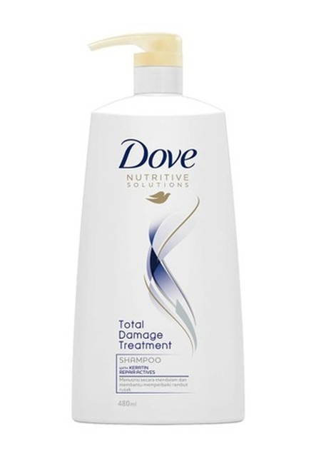 Dove Total Damage Treatment Shampoo Dengan Keratin Repair Actives. Secara Langsung Memperbaiki Permukaan Rambut Dan Menutrisinya Secara Mendalam, Sehingga Rambut Senantiasa Sehat. Di Setiap Pemakaian, Rambutmu Senantiasa Ternutrisi, Kuat Dan Indah.