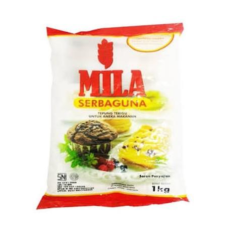 Mila Tepung Serbaguna merupakan tepung terigu berkualitas yang dapat dipakai untuk membuat aneka variasi makanan.