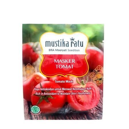 Mustika Ratu Masker merupakan masker wajah yang dapat memberikan kesegaran pada wajah.