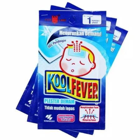 KoolFever Baby adalah produk kesehatan untuk meredakan demam dan panas tubuh anak yang dibuat seperti kompres. Pereda panas ini diformulasikan untuk meredakan tingginya panas bayi dan anak dengan alami. Kompres panas ini dibuat dari bahan kain lembut yang