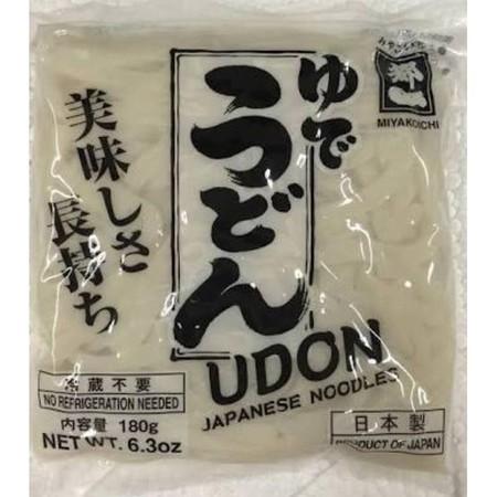 Miyakoichi Gyomuyo Futo Udon 190 gr - Mie Basah Matang