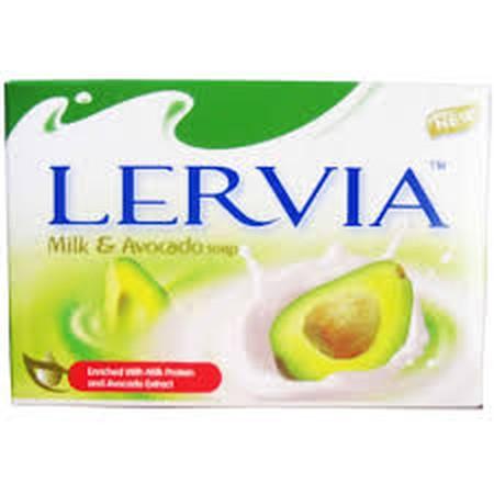 Lervia Bar Soap merupakan sabun goat's milk yang mengandung protein, laktosa, serta vitamin yang membantu mengangkat sel kulit mati di permukaan kulit dan mendorong pertumbuhan sel kulit baru. Sabun ini dapat menjadikan kulit lebih halus, terasa lembut