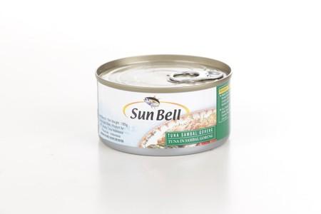 Sun Bell Tuna Sambal Goreng 185gr merupakan makanan kaleng hasil olahan laut yang terbuat dari ikan tuna pilihan dengan bumbu sambal goreng yang gurih dan nikmat yang dikemas dengan praktis, higienis dan aman untuk dikonsumsi anda dan keluarga.