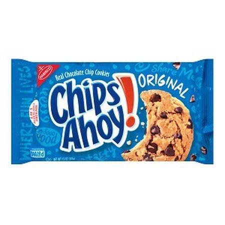 Chips Ahoy Original 84Gr Chips Ahoy Original 84Gr Adalah Biskuit Dengan Rasa Original Yang Renyah, Dibuat Dengan Cara Dipanggang. Biskuit Ini Juga Terasa Lebih Mantap Jika Dinikmati Bersama Kopi, Teh, Atau Susu Kesukaan Anda Di Pagi Atau Sore Hari. Dibu