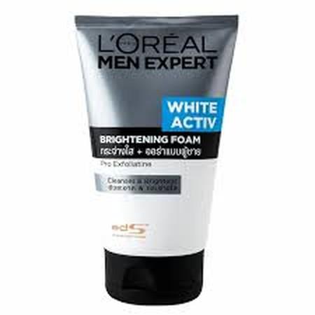 L'Oreal Paris Men Expert White Active Cleansing Foam. Berikan Penampilan Terbaik Dan Lindungi Wajahmu Dengan L'Oreal Paris Deep Cleansing Men'S Face Wash, Membantu Membuka Pori-Pori Dan Menyingkirkan Kulit Berminyak Dengan Exfoliator. Ahli Kami Di L'Oreal