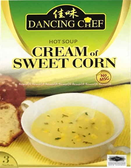Dancing Chef Authentic Asian Presents A Range Of Easy-To-Use Ready-To-Cook Asian Cooking Pastes . A Convenient Preparation For A Classic Full-Flavoured And Creamy Corn Soup. Very Suitable To Be Refined With Fresh Mushrooms And Other Ingredients.
