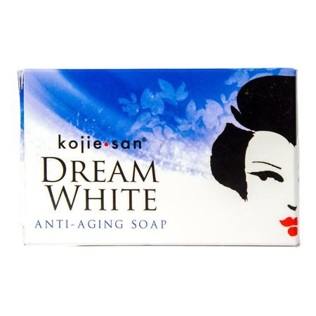 Kojie San Dreamwhite Face Cream merupakan cream yang kaya akan kandungan collagen (dari Ekstrak Rumput Laut) dan Elastin (protein). Cream ini mengandung Kojic Acid dan Vitamin C yang dapat membantu untuk mencerahkan kulit juga mencegah terjadinya keriput