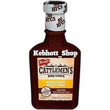 French's Cattlemen's Mississippi Honey BBQ 18 oz merupakan saus dengan sentuhan madu dalam paduan cuka dan tomat. Tekstur madu yang halus memperkaya cita rasa saus ini ketika dibandingkan dengan saus barbecue lainnya