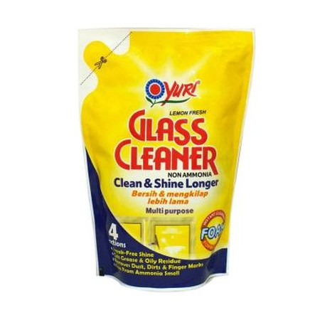 Glass Cleaner Membersihkan Dan Mengkilapkan Permukaan Seperti Kaca, Cermin, Plastik, Keramik, Kayu, Batu Dan Stainless Steel. Dengan Formula Ekslusif Yang Menghasilkan Foam Dan Tanpa Ammonia, Membersihkan Secara Menyeluruh, Cepat Kering, Tidak Perlu Dibil