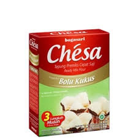 Chesa Bolu Kukus dibuat khusus untuk anda yang menyukai bolu kukus dan ingin membuatnya sendiri tanpa harus repot dengan bahan dan proses yang merepotkan.