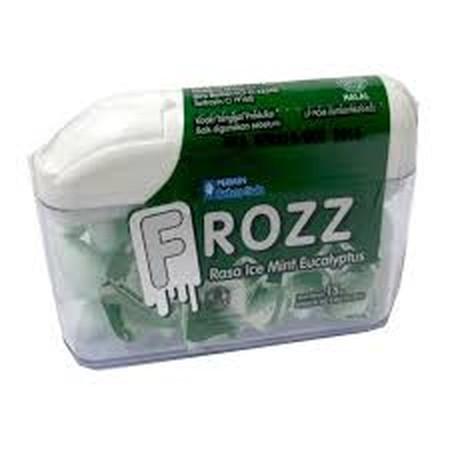 Permen Rasa Ice Mint Eucalyptus Yang Dingin Menyegarkan Dan Bebas Gula.