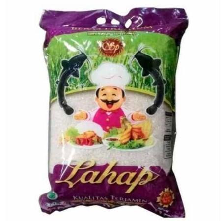 Beras rojolele merek Lahap yang diolah dari butir padi pilihan yang diproses secara higienis menggunakan teknologi mesin modern n diawasi secara ketat sehingga menghasilkan beras higienis pulen, putih alami yang terbaik untuk keluarga Indonesia.