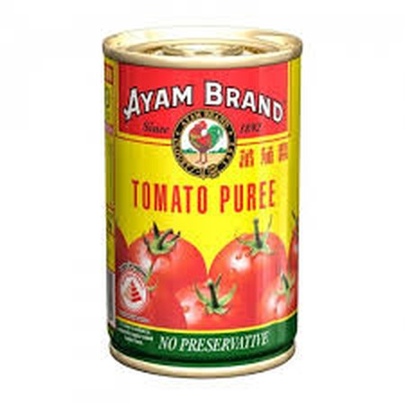 Ayam Brand Tomato Puree Without Preservative.
