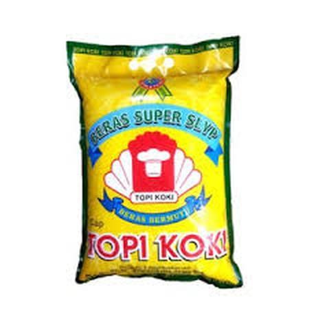 Beras Super Slyp Topi Koki merupakan beras slyp super pilihan ahli beras kami, dengan rasa nasi yang enak dan pulen. Beras Super Slyp Topi Koki menjadi beras pilihan konsumsi masyarakat Indonesia.