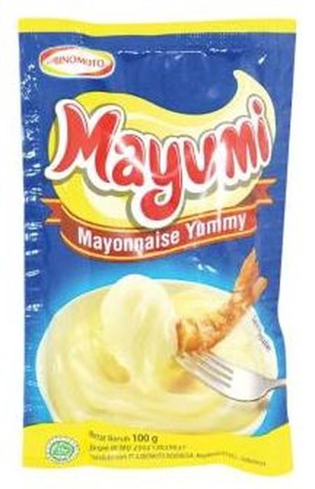 Mayumi Adalah Mayonnaise Yang Terbuat Dari Bahan-Bahan Berkualitas.  Memberikan Rasa Yang Berbeda Karena Rasa Creamy Yang Penuh Di Mulut  Dan Sangat Kaya Rasa Untuk Makanan Sehari-Hari.   Mayumi Adalah Saus Mayo Dengan Cita Rasa Yang Creamy. Dibuat Dengan