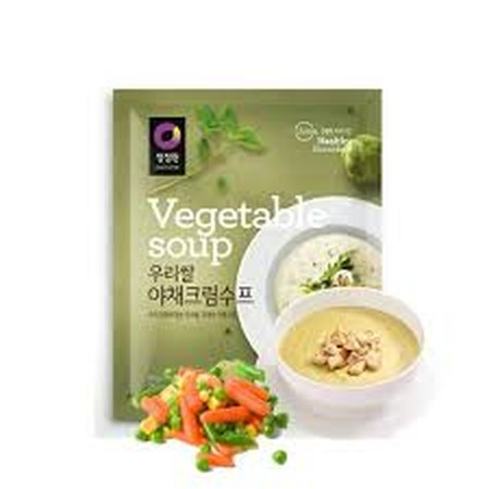 An Instant Powder Soup Product With Simple Taste And Good For Health As Various Good Quality Vegetables (Onion, Carrot, Etc.) Are Contained In The Soup.