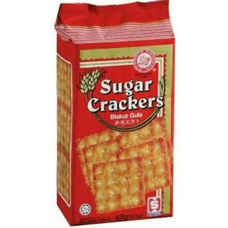 Hup Seng Sugar Crackers 428Gr Pack Hup Seng Sugar Crackers 428Gr PackAdalah Kreker Renyah Dengan Rasa Manis Yang Dibuat Dengan Bahan-Bahan Yang Berkualitas Sehingga Menghasilkan Tekstur Yang Renyah Dengan Cara Dipanggang. Biskuit Ini Juga Terasa Lebih
